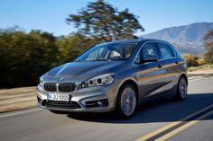 Photos et vidéos de BMW Série 2 Active Tourer (2014) : photos du premier monospace de BMW - Salon de Genève 2014