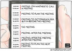 You typical worker's calendar looks like this