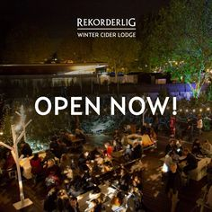 The Winter Cider Lodge on London's Southbank is now open! Join us for a #HotOrCold Winter Cider.