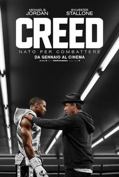 ​Creed ​The film stars Michael B. Jordan as Adonis Johnson Creed, Apollo Creed's son, with Sylvester Stallone reprising the role of Rocky Balboa and ​Tessa Thompson, Phylicia Rashad, Tony Bellew and Graham McTavish 2015 Movies, All Movies, Movies 2019, Great Movies, Movies Online, Movies And Tv Shows, Movies Free, Film Online, Oscar Movies