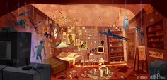 PARANORMAN CONCEPTS- NORMAN'S HOUSE | Pete Oswald