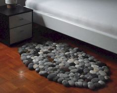 cool 55 Magnificent DIY Felt Stone Rug to Stand Out Your Homedecort https://homedecort.com/2017/04/55-magnificent-diy-felt-stone-rug-stand-homedecort/