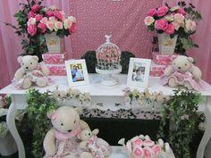 Tema de Festa Ursinha Floral Master 2 - Decorativa Festas - Decoração de Festa Infantil em Florianópolis