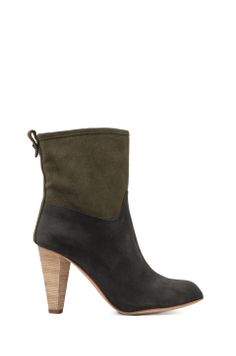 Matt Bernson Jameson Bootie in Nero/Moss from REVOLVEclothing