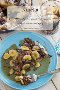 Crockpot Breakfast Casserole, French Toast Casserole, Breakfast Skillet, Breakfast Sandwich Recipes, Brunch Recipes, Breakfast Ideas, Yummy Recipes, Nutella Recipes