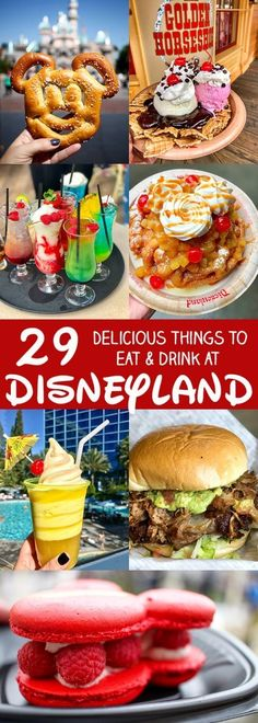 29 More Delicious Things to Eat and Drink at Disneyland – What to Eat at Disneyl… 29 Weitere köstliche Dinge zum Essen und Trinken in Disneyland – Was bei Disneyland Tipps und Tricks zu essen Disneyland Secrets, Disneyland Vacation, Disneyland California, Disney Vacations, Disney Travel, California Trip, Disneyland Paris, Disneyland Ideas, Vacation Destinations