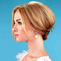 Hair idea for wedding