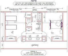 Bedroom Addition Ideas Addition With 2 Bedrooms And A Jack And Jill Bath 18x24 Addition