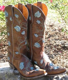 Old Gringo Abby Rose Boots... So pretty!