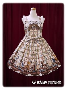 Baby, the stars shine bright MY ADVENT CALENDAR~Magic of the happiness over the special day~scallop jumper skirt