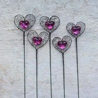 Wire Necklace, Memory Wire Bracelets, Wire Weaving, Beads And Wire, Wire Art, Suncatchers, Wands, Jewelry Crafts, Whimsical