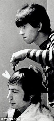 Keith Richards gives Charlie Watts a haircut before a concert  http://www.amazon.com/Got-Any-Kahlua-Collected-Recipes/dp/1478252650