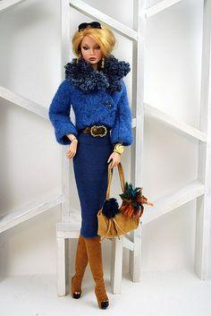 "Poppy wears ""habilisdolls"" | www.habilisdolls.com | habilisdolls | Flickr Doll Clothes Barbie, Vintage Barbie Dolls, Star Fashion, High Fashion, Fashion Outfits, Fashion Royalty Dolls, Fashion Dolls, Barbie Mode, Barbie Wardrobe"