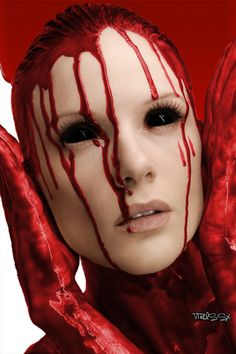 Blood elegantly and creeply tastefully done!