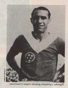 Niginho foi revelado no tricampeonato de 1928, 29 e 30. O Cruzeiro ainda se chamava Palestra.