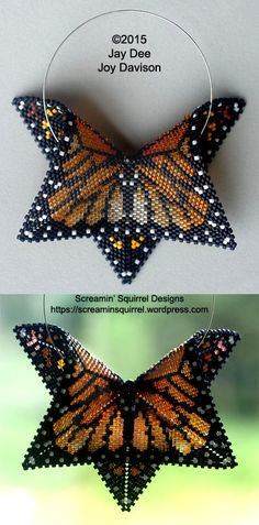 The geometric Monarch is, to date, the most shared and pinned beadwork piece I've designed. It's this piece that convinced me to study the various skills needed to write a pattern and …