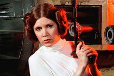 Princess Leia Carrie Fisher Artwork Tributes
