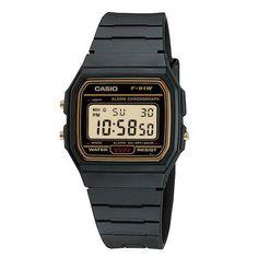 Casio Classic F-91WG-9 horloges (Goedkoop & geen verzendkosten)