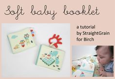 Tutorial | Soft Baby Booklet | by StraightGrain