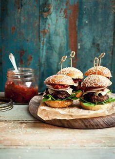 Mmm, burgers!