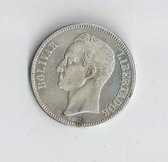 moneda de 5 bolívares venezolana de 1936