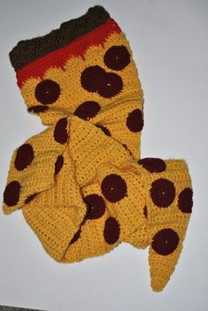 crochet food scarf | Posted by Colleen K at 10:02 PM No comments: