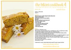 Banana Cake. The Bikini Cookbook