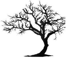 bent tree sketch - Google Search