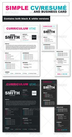 Professional Business Resumes Adorable Professional Business Resume And Cover Letter  Business Resume .
