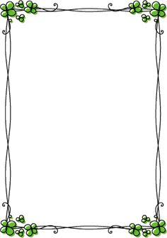 枠・飾り枠・飾り罫・飾り線(クローバーおしゃれなデザイン)無料イラスト素材 Creative Poster Design, Creative Posters, Frame Border Design, Powerpoint Background Design, Boarders And Frames, 1st Birthday Pictures, Free Vector Backgrounds, Diy Wall Painting, Page Borders