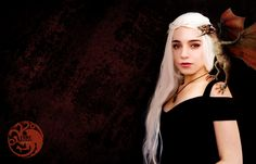 #daenerys #got #gameofthrones #cosplay #khaleesi #fireandblood #targaryen #daenerystargaryen #wallpaper