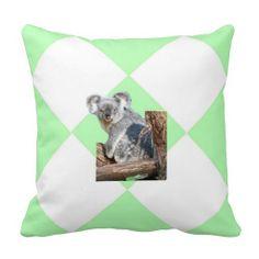Koala Throw Pillow