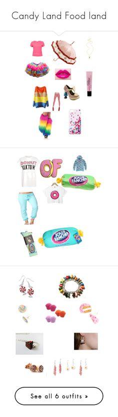 """Candy Land Food land"" by lisha30-2010 on Polyvore featuring OPTIONS, Irregular Choice, Lisbeth Dahl, Kokon To Zai, philosophy, Forever 21, River Island, Retrò, ODD FUTURE and Kate Fearnley"