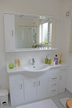 A stunning new bathroom installed in one of our annexes for Bathroom cabinets surrey bc