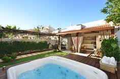Busca imágenes de diseños de Spa de estilo rústico en  de Stefani Arquitetura. Encuentra las mejores fotos para inspirarte y crea tu hogar perfecto.