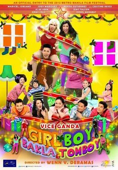 Girl, Boy, Bakla, Tomboy Comedy) Quadruplets are split into pairs and raised apart by their parents. They meet as adults by accident and have a tough choice to make when one needs a liver transplant. Comedy Movies, Hd Movies, Movies Online, Movie Tv, Films, Movie Blog, Movie List, Tomboy Movie, Viva Film