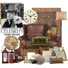 Robert Downey Jr.'s Home Decor Style