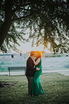 Memphis Wedding Photographer Whit Photography | Cafe Keough | Downtown Memphis Engagement Session
