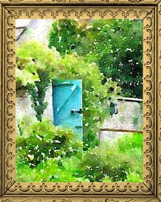 This fine art print features a garden door. As a child reading the book The Secret Garden, I wished there truly was one I could secretly hide away in. This particular print features a garden wall set in the English countryside. I love the turquoise door. A perfect piece of art to give pleasure timelessly and keep the lazy beautiful moments of nature with us year round.  This listing is for either an 4x5, 4x6, 5X7, 8X10, 11X14, and 16X20, 20x24 or 24x30, (just click the custom button if youd…