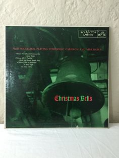 Paul Mickelson Christmas Bells Vintage Vinyl 33rpm Record Album 1955 RCA Victor Records LPM-1115 by NostalgiaRocks