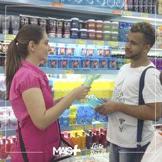 Leite de Rosas levará até você os novos produtos da marca com a qualidade de sempre. A ação está sendo realizada em alguns supermercados Guanabara do Rio. Venha conferir!
