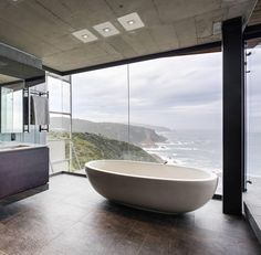 """Cove 3 by @_saota Architects (2010), Knysna #SouthAfrica... Area: 1005 sqm. Photo by: Photo courtsey @_saota / John Devonport"""