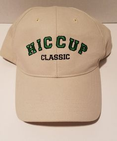 Hiccup Classic Baseball Hat One of a Kind NEW Never worn RARE! | Clothing, Shoes & Accessories, Men's Accessories, Hats | eBay!