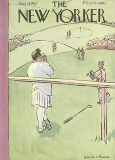Helen E. Hokinson : Cover art for The New Yorker 236 - 24 August 1929