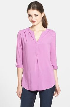 Pleione+Mixed+Media+Tunic+(Regular+&+Petite)+available+at+#Nordstrom