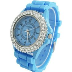 Colorful Jelly Silicone Young Teenager Unisex Fashion Quartz Wrist Watch Watches Unknown. $4.49