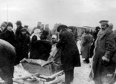 Otra imagen del regreso de inmigrantes rusos a Letonia. Foto gentileza Sr Manuel Gimenez Puig