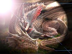 Anne Stokes Dragon by GraveRobberFang on DeviantArt