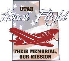 Utah Honor Flights Mission is to Enable Veterans to Visit the War Memorials Built in Their Honor. Honor Flight, Coast Guard, Utah, Stuff To Do, Join, Memories, Kansas, Freedom, Cards