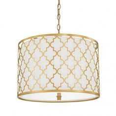 FREE SHIPPING. Purchase the 5 light Ellis Drum Pendant in Capital Gold by Capital Lighting for your transitional lighting today at lightingconnection.com 4543CG-578. Also available in Antique Silver and Brushed Gold.